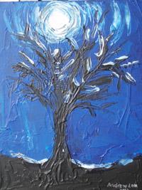 Andrew's painting